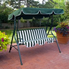 Swing Chair Canopy Replacement Teak Folding Chairs And Table Xtremepowerus Patio Lounger Hammock Sun Green Walmart Com
