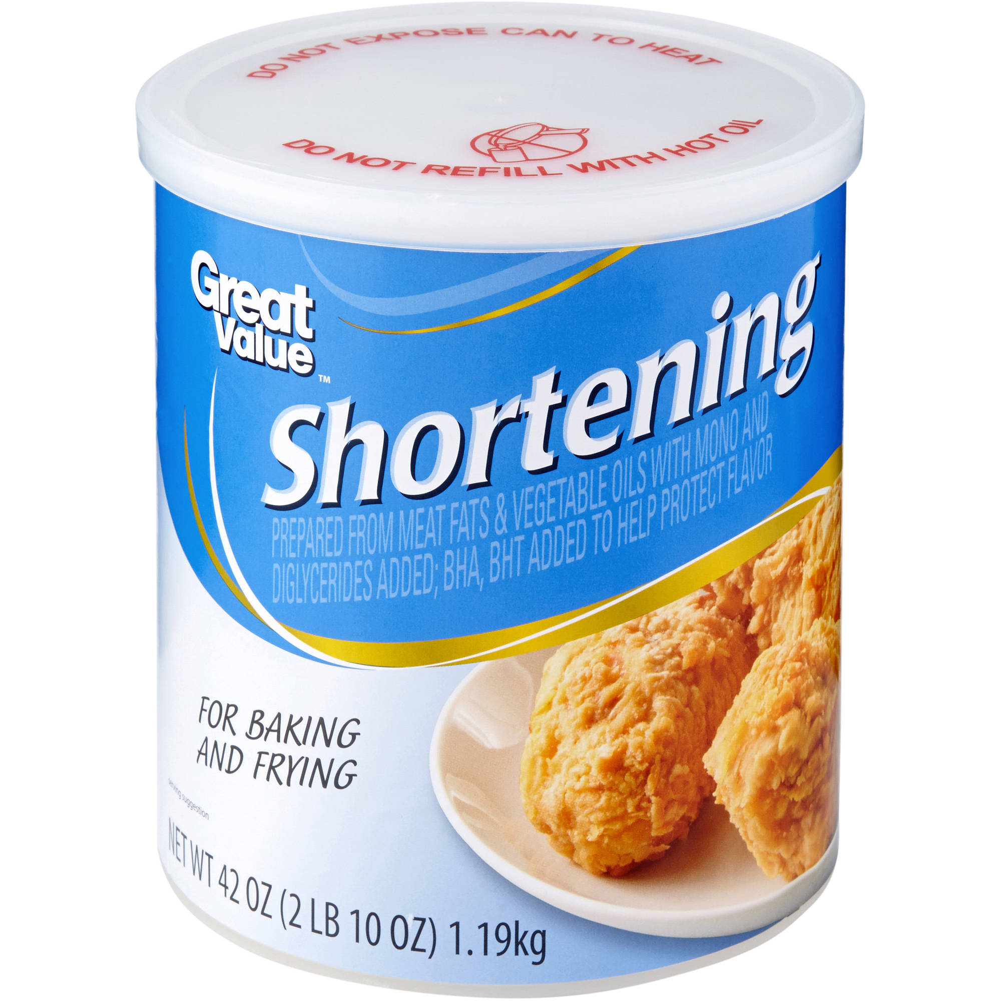 Great Value AllVegetable Shortening 48 Oz  Walmartcom