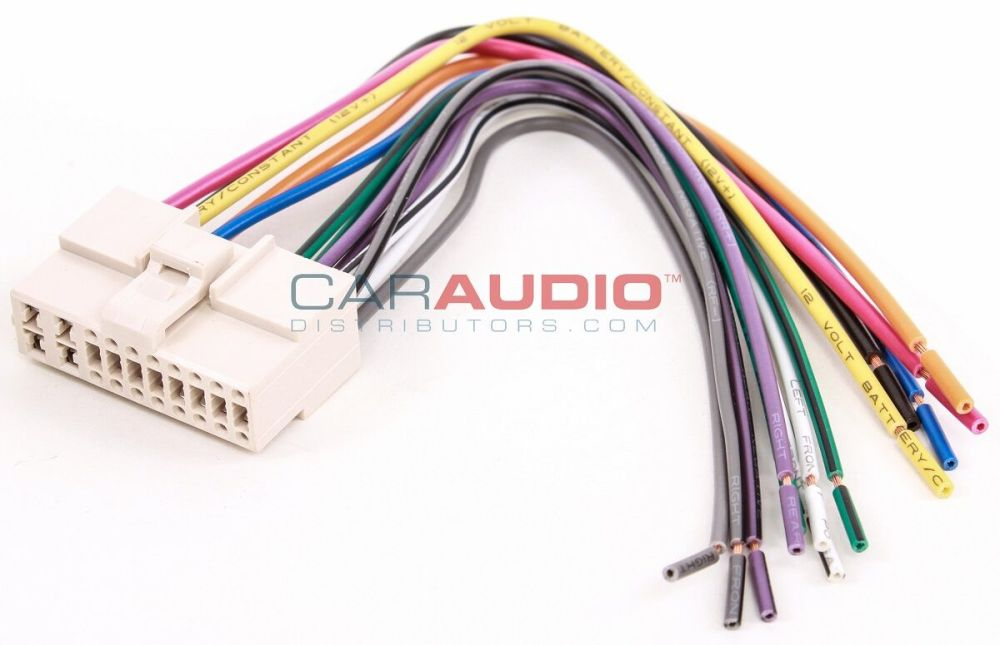 medium resolution of metra 71 1003 reverse wiring harness for select 1995 2001 kia vehicles with 16 pin connectors walmart com