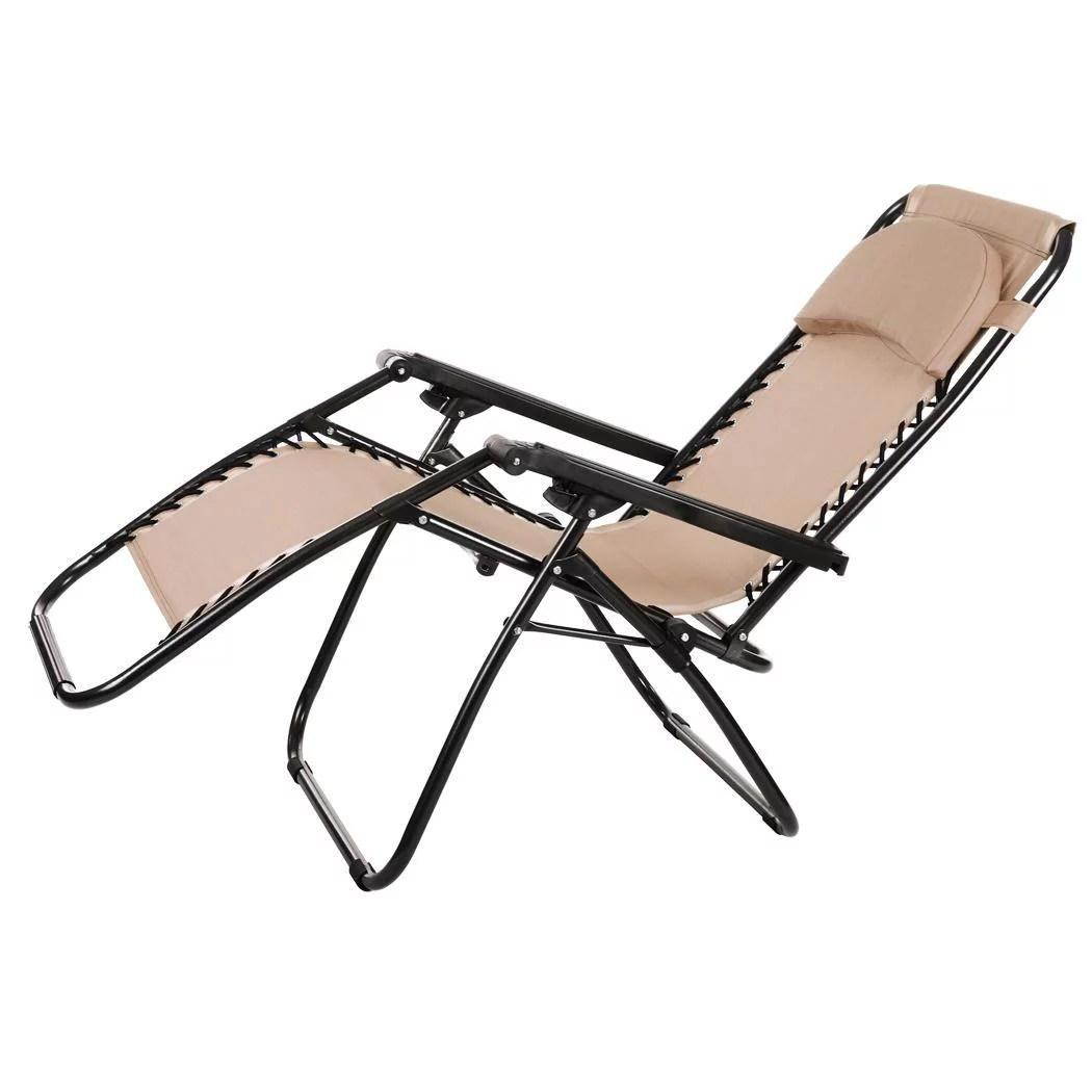 Clearence Folding Zero Gravity Chairs Reclining Lounge