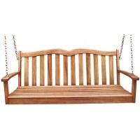 2-Person Wooden Porch Swing - Walmart.com