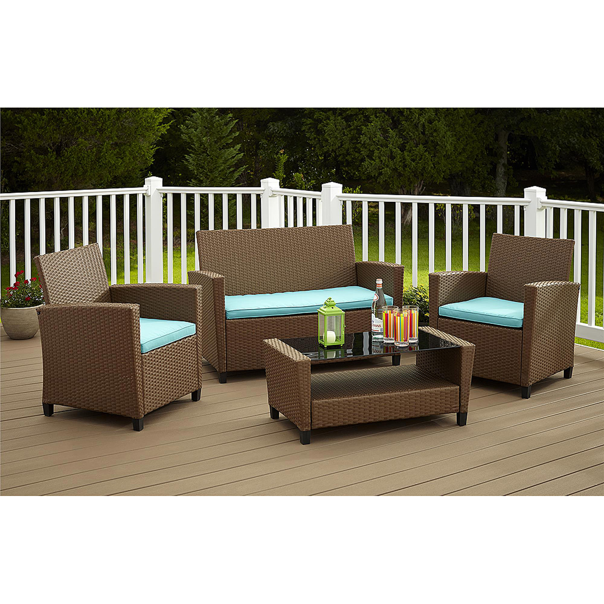 Royal 10 Piece Outdoor Wicker Patio Furniture Set 10b