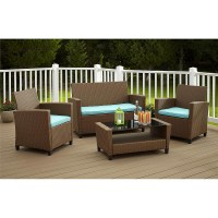 Royal 10 Piece Outdoor Wicker Patio Furniture Set 10b ...
