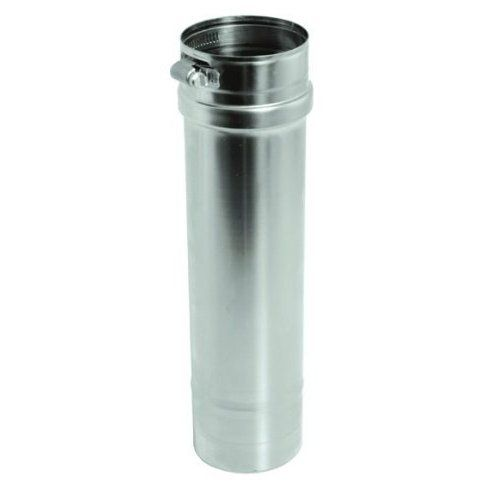 Stainless Steel Single Wall Gas Vent Pipe