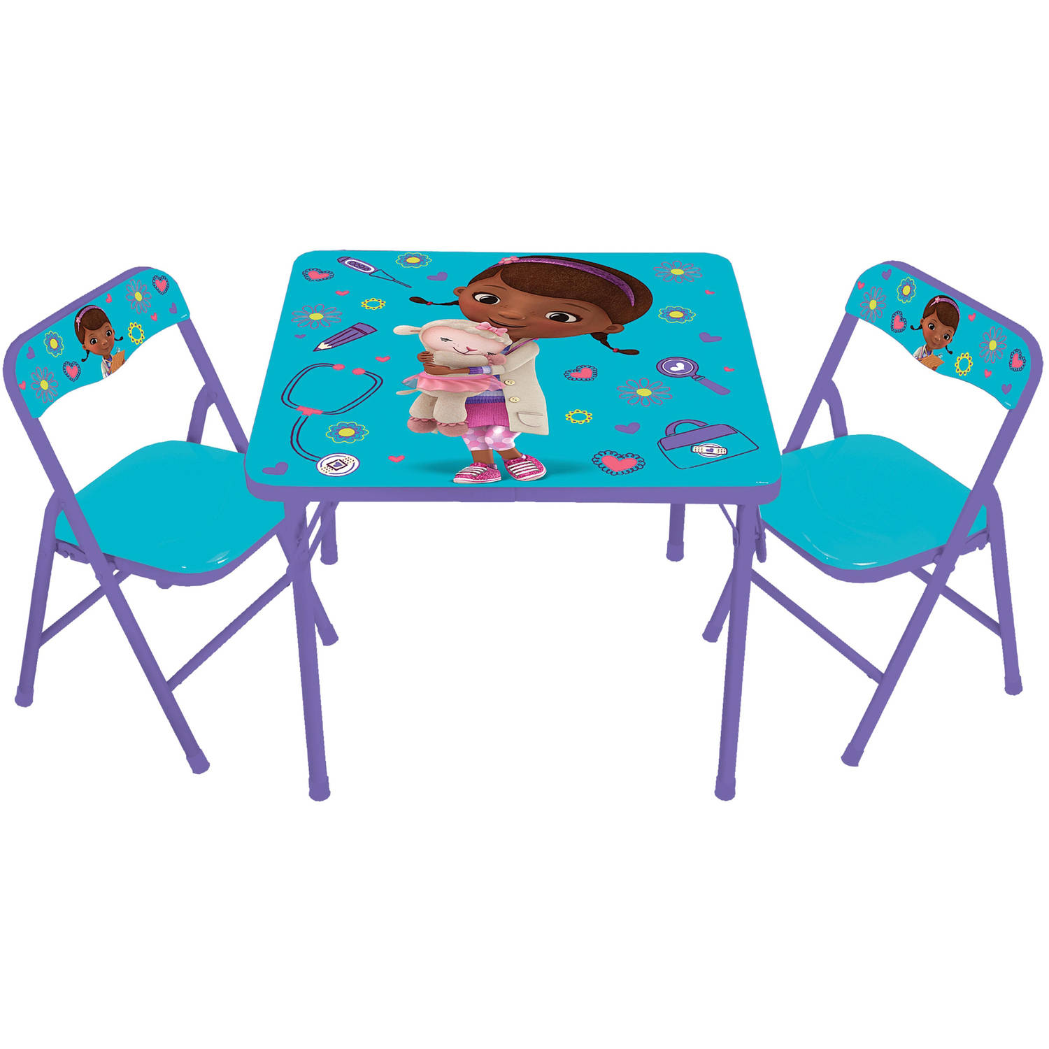 doc mcstuffins erasable activity table and chair set blue church chairs wedding decorations roselawnlutheran