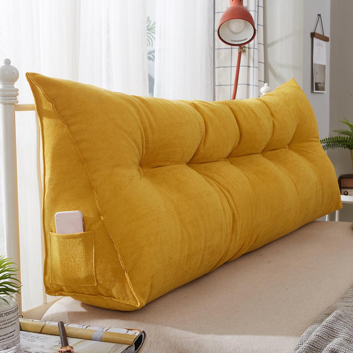 60cm wedge cushion reading pillow back