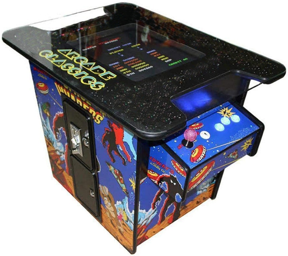 Video Game Machine Cocktail Arcade Machine With 60 Classic