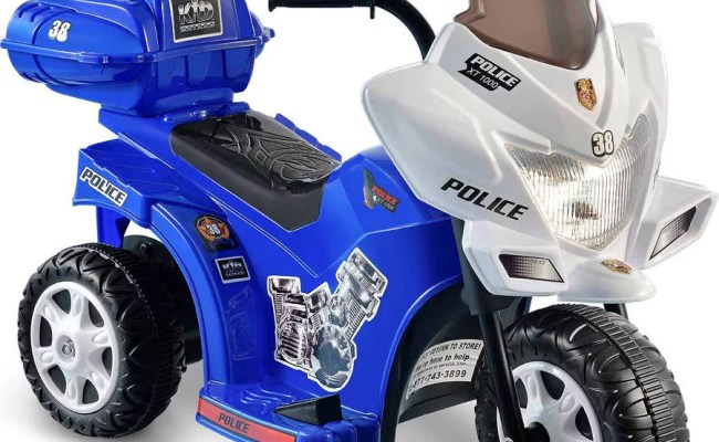 Kid Motorz Lil Patrol 6 Volt Battery Powered Ride On