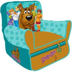 Scooby Doo Chair Tufted White Warner Bros Paws Bean Walmart Com