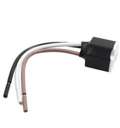 dc 12v wire harness socket car led light bulb lamp adapter connector ceramics [ 1100 x 1100 Pixel ]