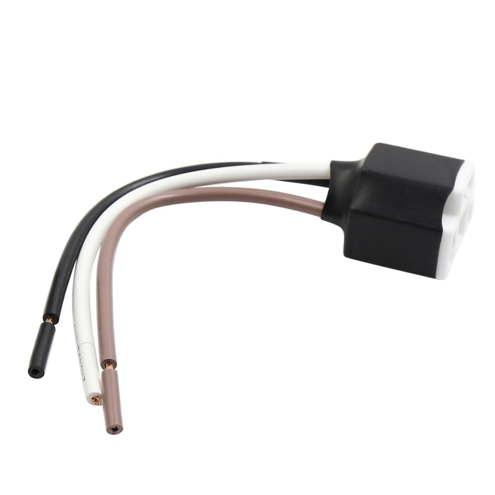 medium resolution of dc 12v wire harness socket car led light bulb lamp adapter connector ceramics
