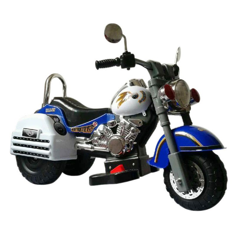 Merske Harley Style Motorcycle Battery Powered Riding Toy