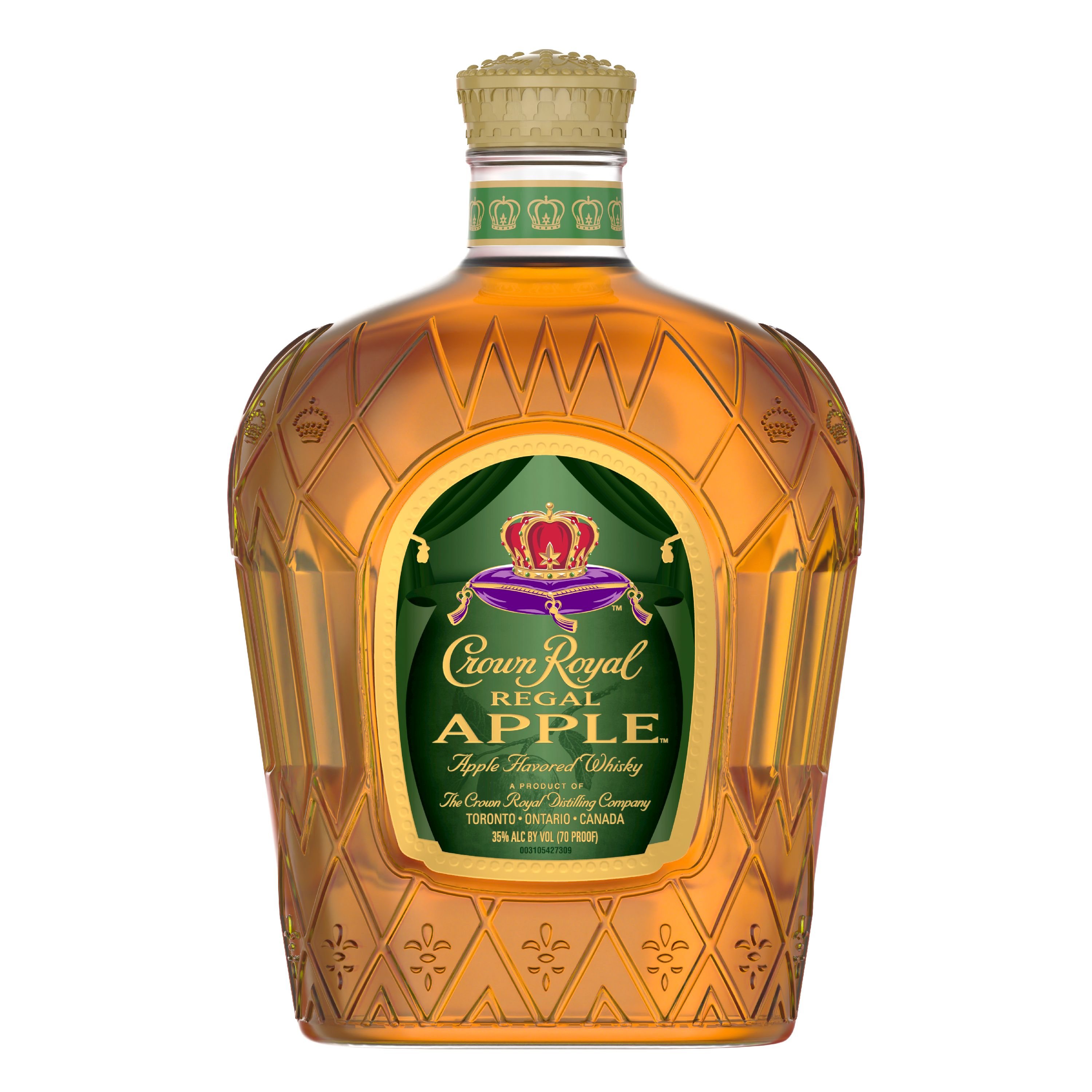 Crown Royal Regal Apple Flavored Whisky 1 L (70 Proof ...