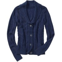 Women's Shawl Collar Sweater Cardigan - Walmart.com
