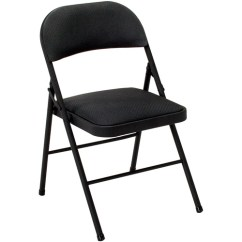 Padded Folding Chairs Uk Jazzy Power Chair Battery Life Cosco Deluxe Chair, Set Of 4 - Walmart.com