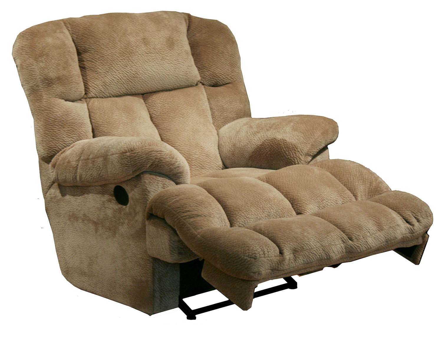 lay flat recliner chairs mid century kitchen table and catnapper cloud 12 6541 7 power chaise chair camel fabric walmart com