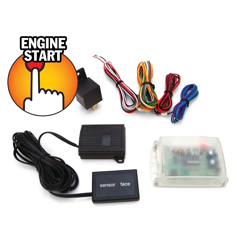 hight resolution of ultratouch ez start push button engine start system drag race brass racing walmart com