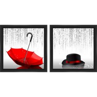 Rain Figurative Wall Art, Set of 2 - Walmart.com