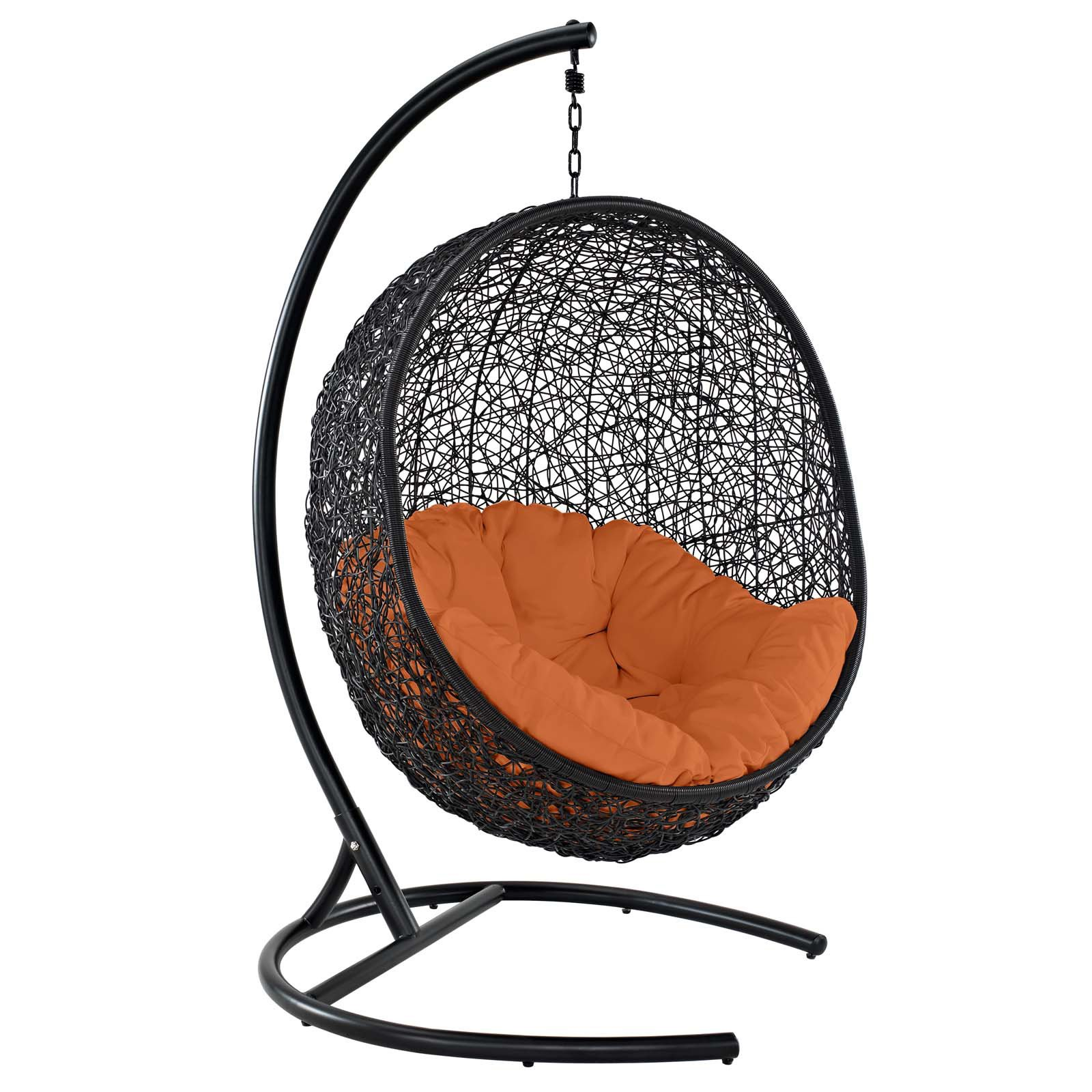 swing chair dragon mart covers and tablecloths for sale modway encase outdoor patio lounge multiple