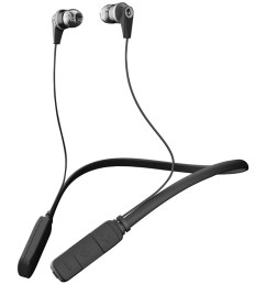 skullcandy s2ikw j509 ink d bluetooth earbuds with microphone black gray  [ 1500 x 1500 Pixel ]