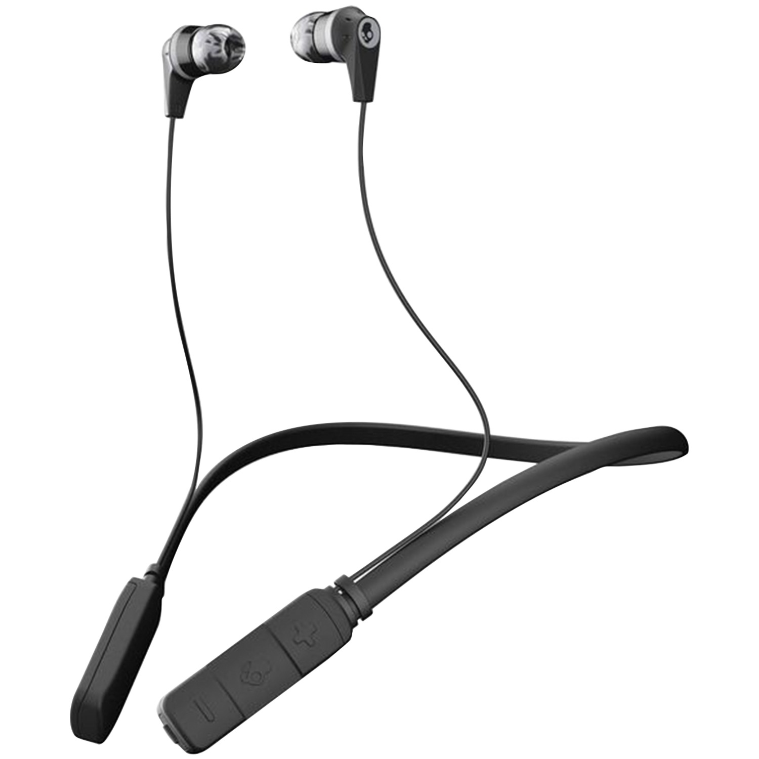 hight resolution of skullcandy s2ikw j509 ink d bluetooth earbuds with microphone black gray