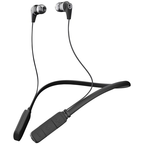 small resolution of skullcandy s2ikw j509 ink d bluetooth earbuds with microphone black gray