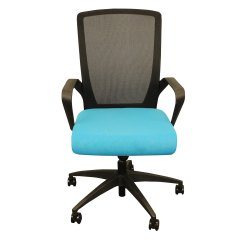 Back Support For Office Chair Walmart Cover Rental Victoria Bc Rightangle Fcctbblf Charlie Mesh Backrest W