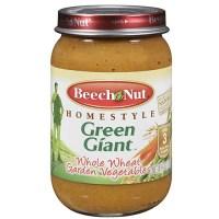 Beech Nut Whole Wheat Garden Vegetables Baby Food, 6 oz ...