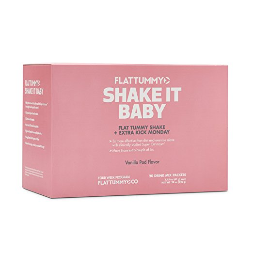 Flat Tummy Tea Shake It Baby Meal Replacement Powder ...