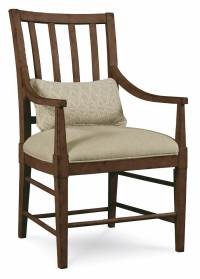 Slat Back Arm Chair - Set of 2 - Walmart.com