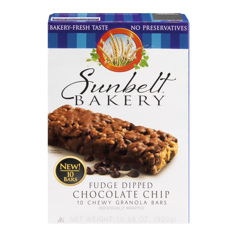 Mckee Foods Sunbelt Bakery Granola Bars 10 ea Walmartcom
