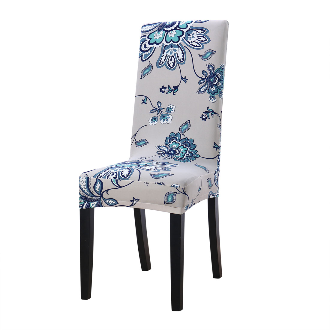 christmas folding chair covers deep tissue massage dining walmart com product image unique bargains home decor washable stretch slipcovers short room stool cover 8