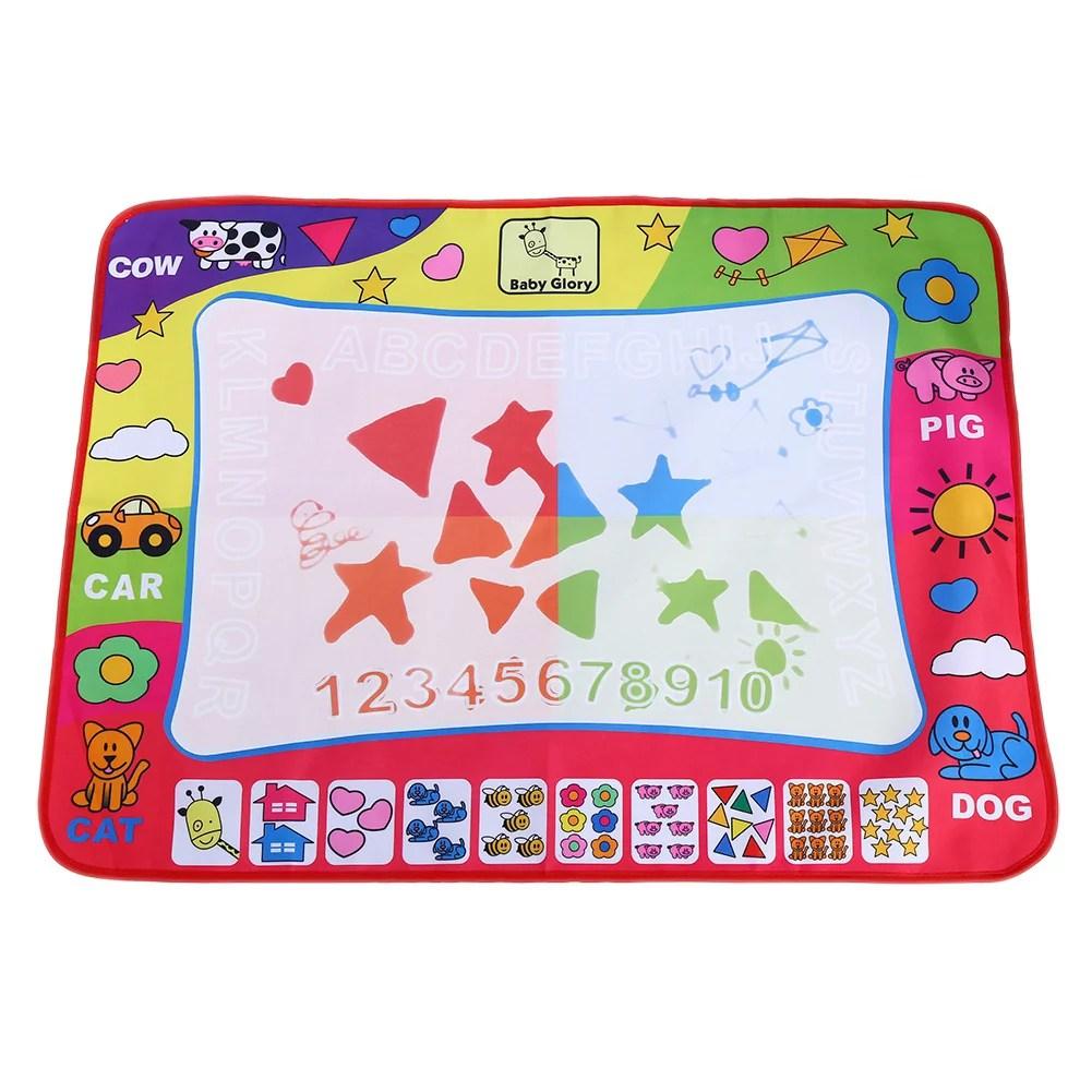 lhcer peinture a l eau dessiner tapis d ecriture doodle board jouet avec stylo magique pour enfant