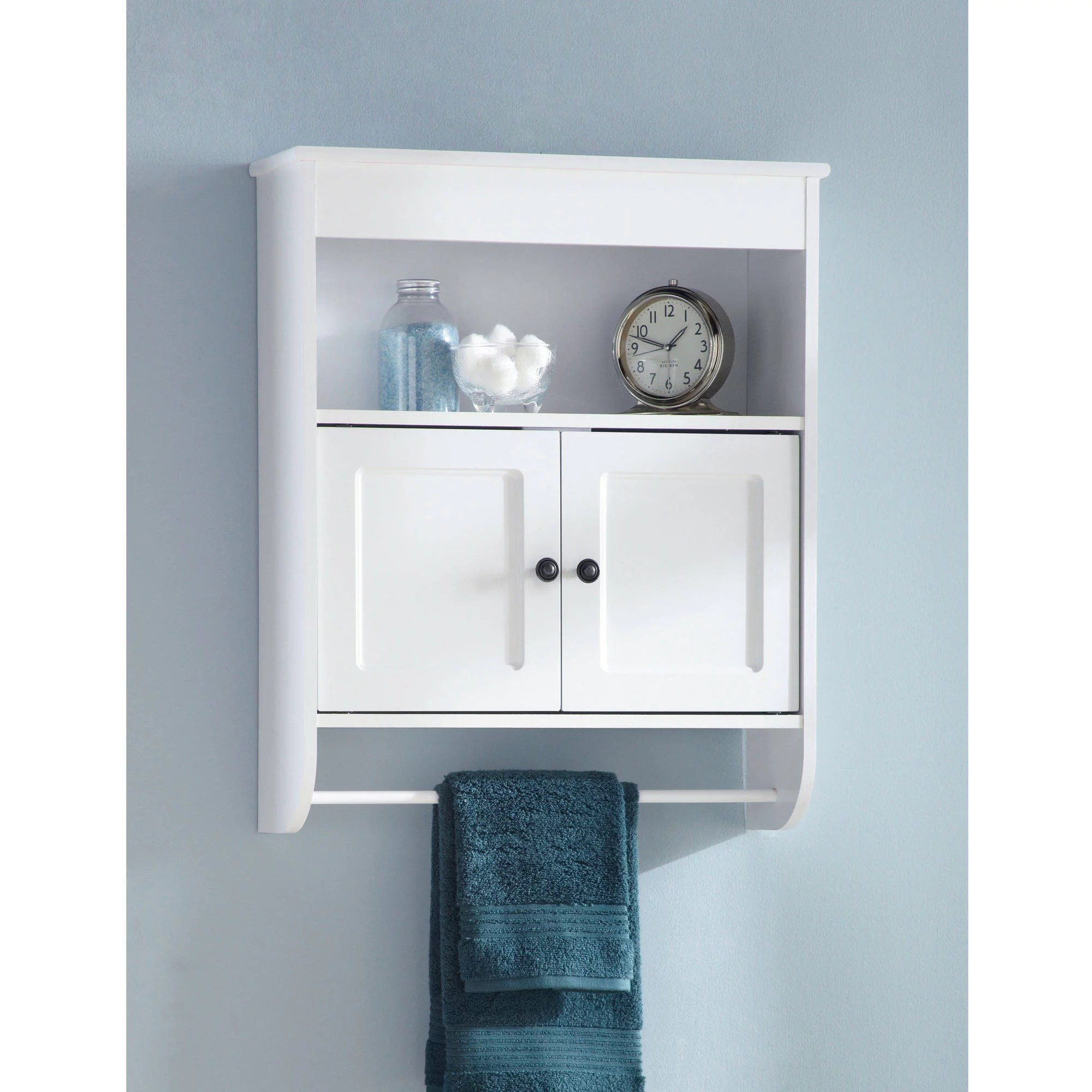 Wall Cabinets For Bathrooms Hawthorne Place Wood Wall Cabinet White