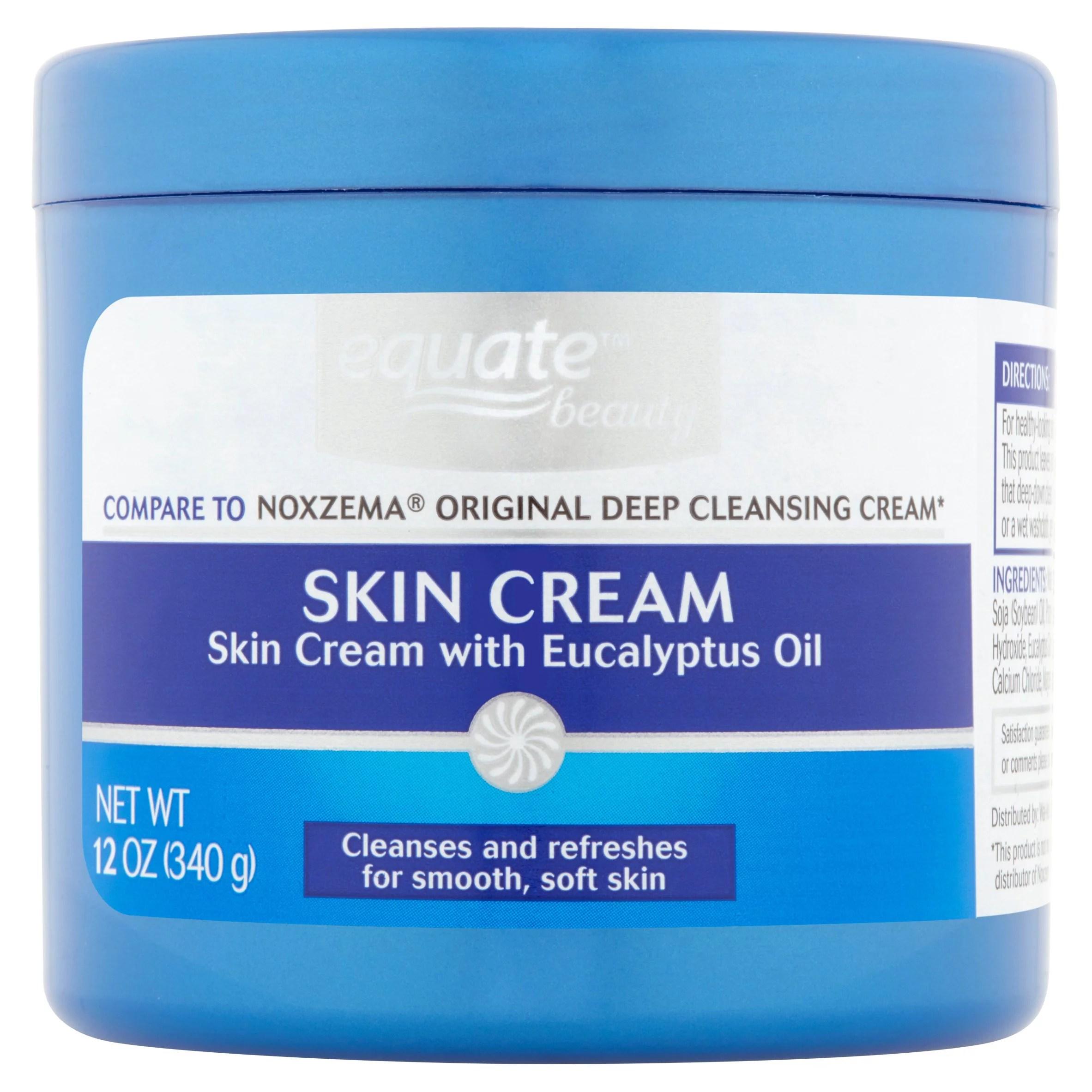 Equate Deep Cleansing Skin Cream 12 Oz - Walmart.com ...