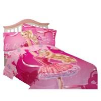Barbie Ballet Twin Bedding Set - Walmart.com
