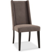 DHI Sienna Tall Wingback Upholstered Dining Chair ...