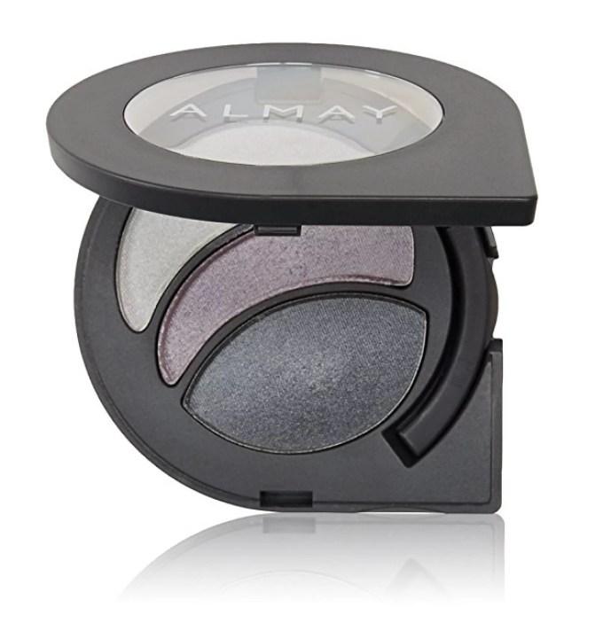 almay intense i-color evening smoky for hazel eyes, #155 hazels + makeup  blender sponge