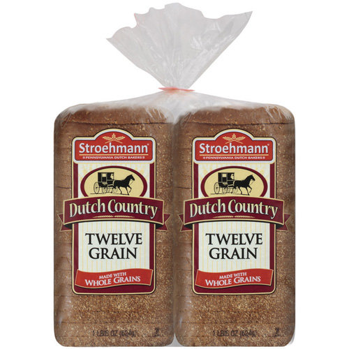 Stroehmann Dutch Country Twelve Grain Bread 22 oz