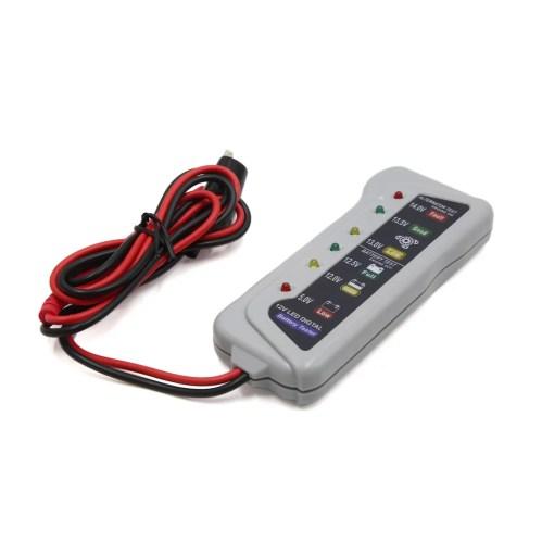 small resolution of 12v 6 light display battery tester car alternator analyzer diagnostic tools walmart com