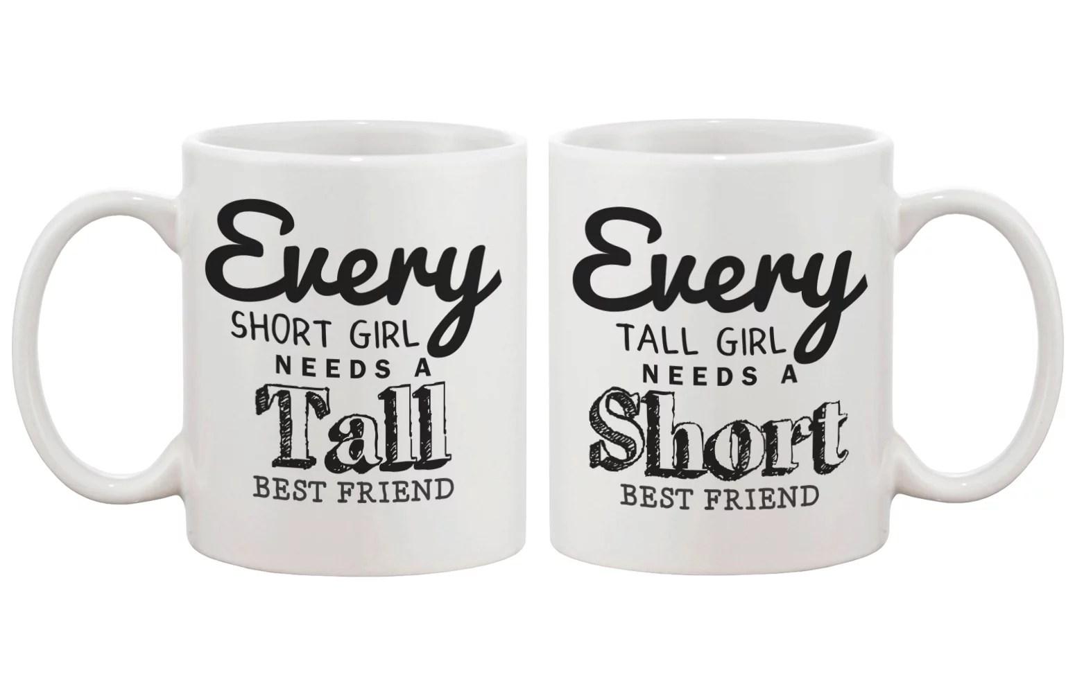 Cute Coffee Mugs For Best Friends Every Short Girl Needs