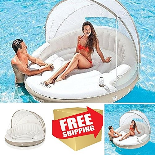 inflatable water chairs for adults green chair covers center floats pool large