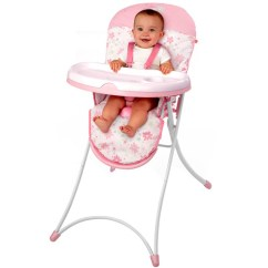 Bright Starts High Chair Laugh And Learn Pink Blossomy Blooms Walmart Com