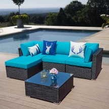 5 pcs outdoor furniture sectional