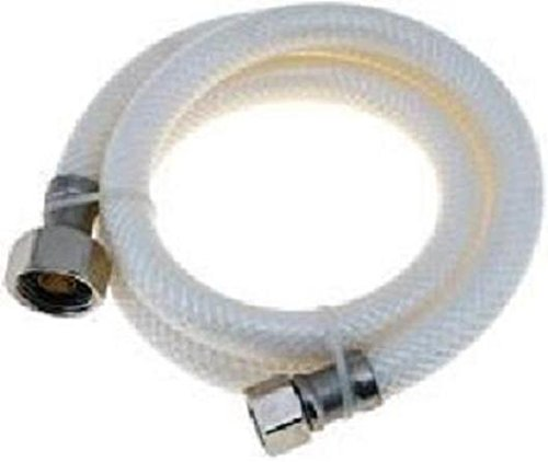 sink faucet connector water supply hose line 1 2 fpt x 3 8 od comp 16 bathroom lavatory faucet sink connector supply line hose by aqua plumb