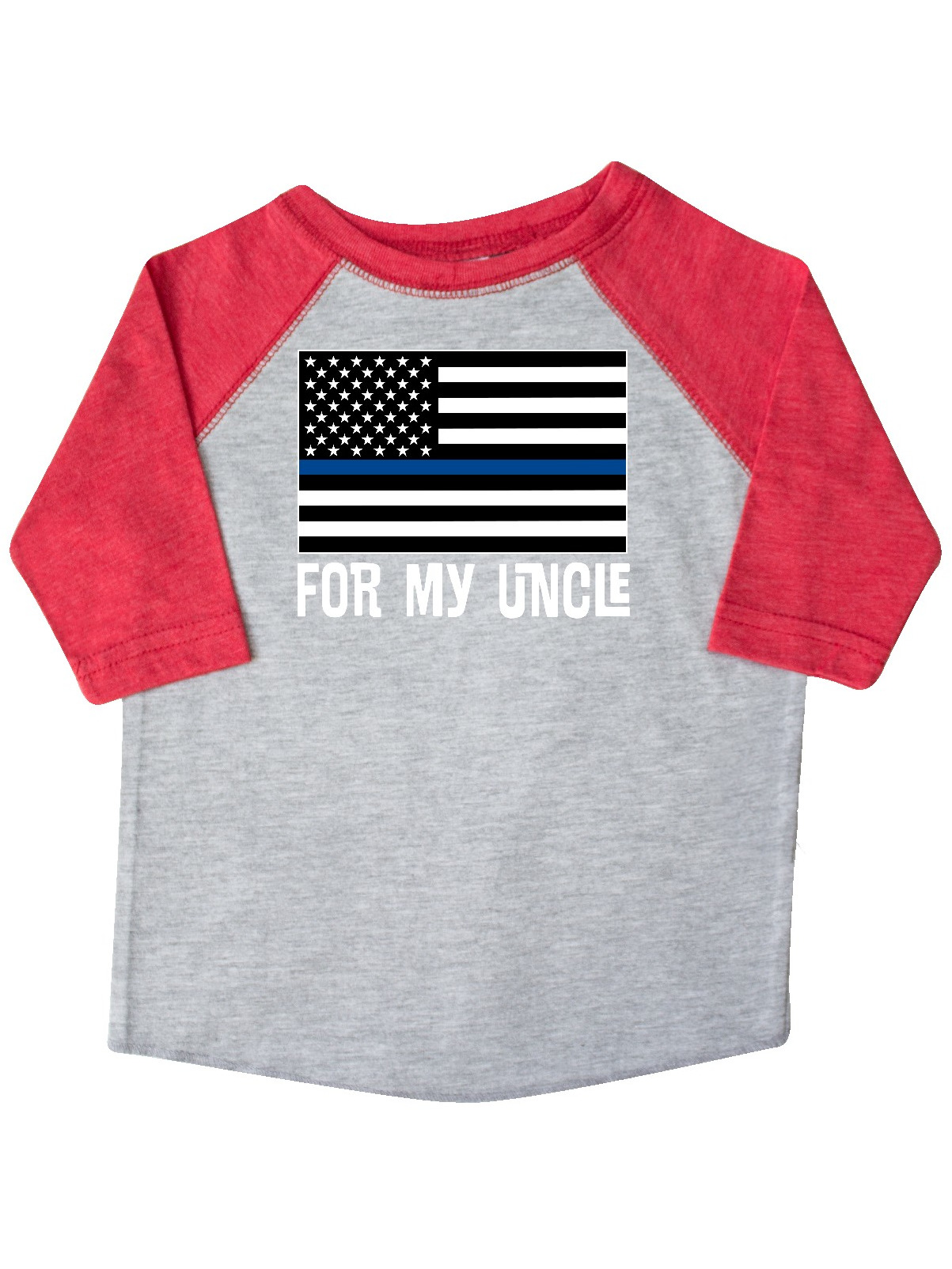 Police Officer Uncle Nephew Toddler T Shirt