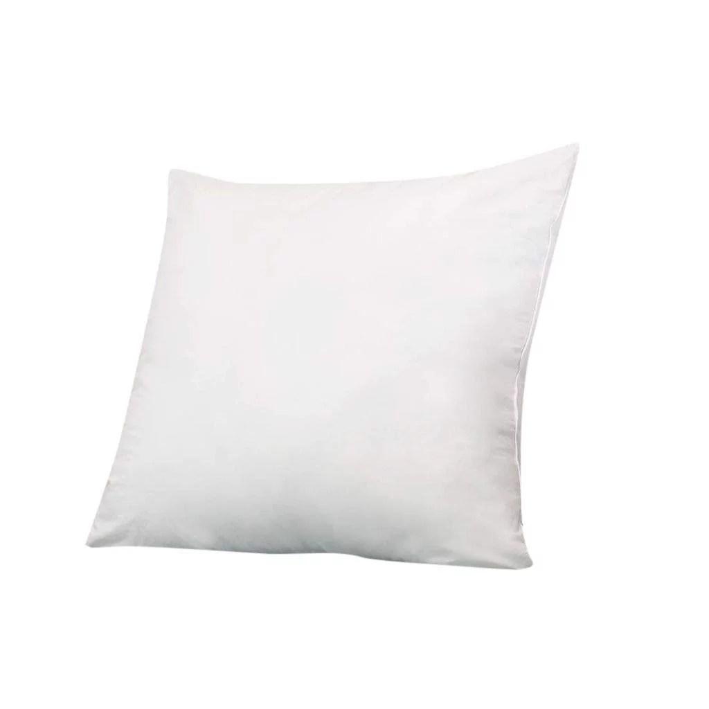 6d pillow 15 x 15 set of 1 pillow insert for decorative bed pillow inserts shams down alternative fill by splendid walmart com