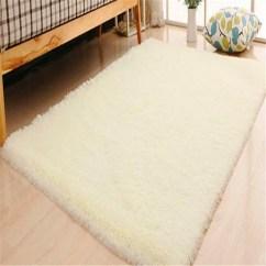 Living Room Floor Mats How To Arrange Furniture With A Corner Fireplace Soft Rectangle Faux Sheepskin Rug Sofa Carpet Bedroom Mat
