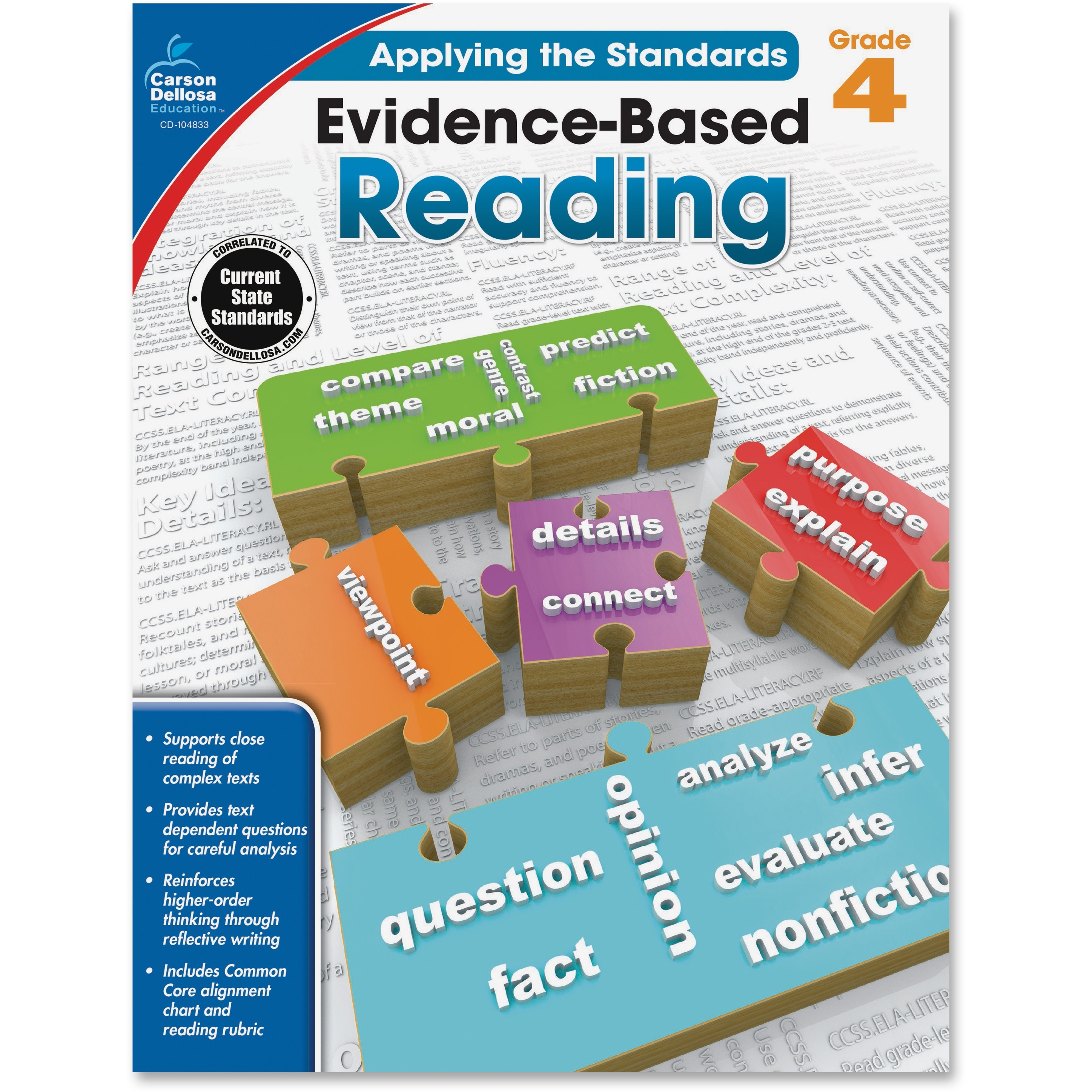 Carson Dellosa Evidence Based Reading Workbook Education