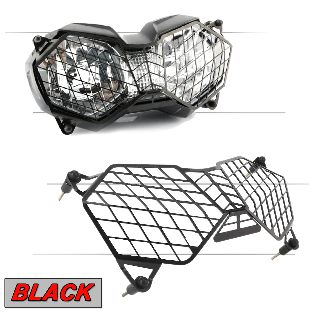 Front Headlight Grille Guard Cover Protector For Triumph
